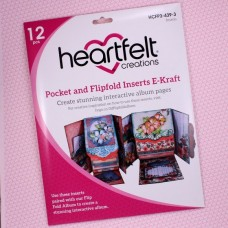 Hearfelt Creations - Pocket and Flipfold Inserts E - Kraft