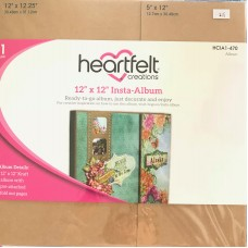 "Heartfelt Creations 12"" x 12"" Insta - Album"