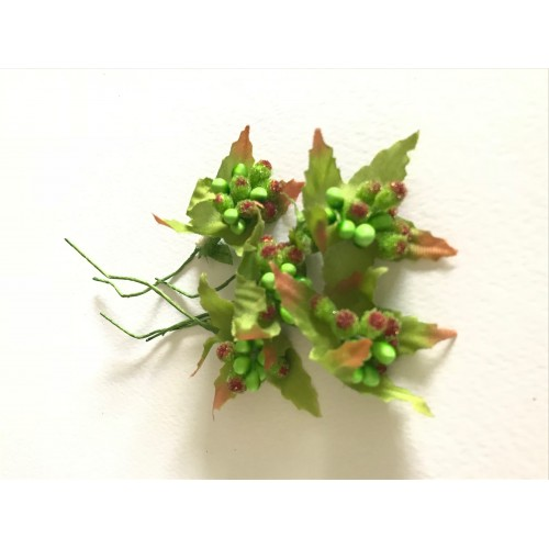 Stamens - Green Berry Cluster