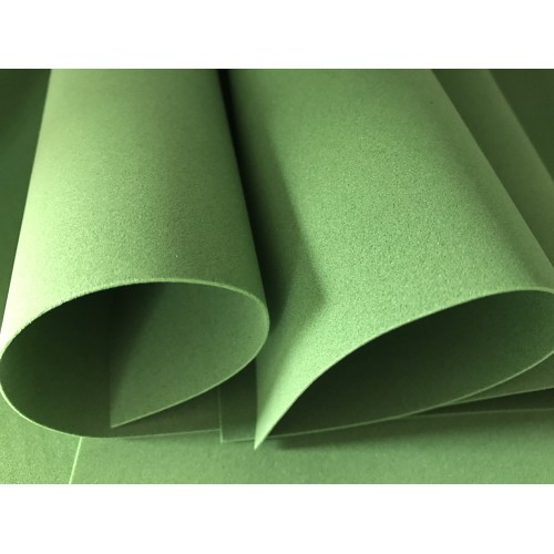 Foamiran - Flower Making Foam Sheets - Dark Green
