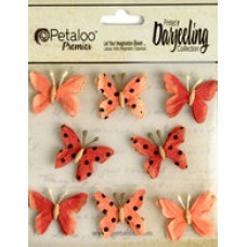 Petaloo - Darjeeling - Mini Butterflies - Teastained Spice