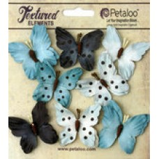 Petaloo - Darjeeling - Butterflies - Teastained Blue