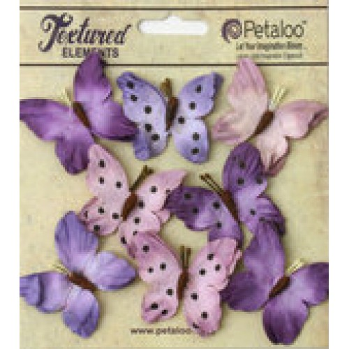 Petaloo - Darjeeling - Butterflies - Teastained Purple