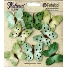 Petaloo - Darjeeling - Butterflies - Teastained Greens