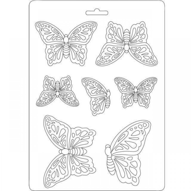 Stamperia Soft Mould Butterflies