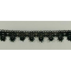 Teardrop Lace Black