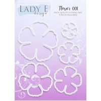 Lady E Design Flower 001 Die
