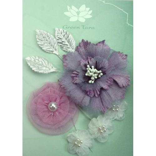Lavender Damask Flower Pack