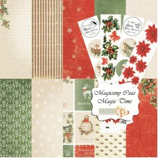 "Magic Time 12"" x 12"" Double Sided Scrapbooking Paper Set"