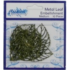 Metal Leaf Embelishment