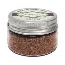 Creative Expressions - Metallic Micro Beads - Copper