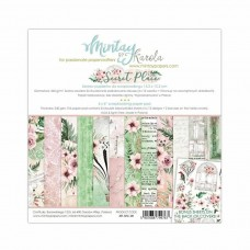 "Mintay Papers - Beauty In Bloom 6 x 6"" Scrapbooking Paper Set"
