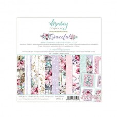 """Mintay Papers - Graceful 6 x 6"""" Scrapbooking Paper Set"""