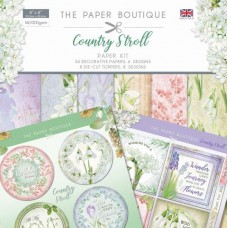The Paper Boutique Country Stroll 8 x 8 Paper Kit