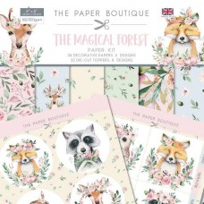 The Paper Boutique The Magical Forest Paper Kit 8 x 8