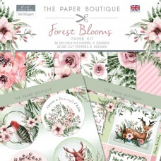 The Paper Boutique Forest Blooms 8 x 8 Paper Kit