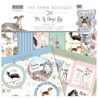 The Paper Boutique - It's A Dog's Life - 8 x 8 Paper Kit
