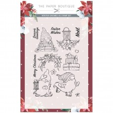 The Paper Boutique Winter Gnome A5 Stamp Set