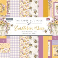 """The Paper Boutique Bumblebee's Dance Card Making Pad 12"""" x 12"""""""