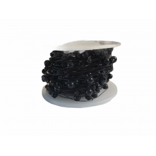 Pearl Beaded Wire - Black