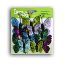 Petaloo - Flora Doodles Velvet Butterflies - New Cool