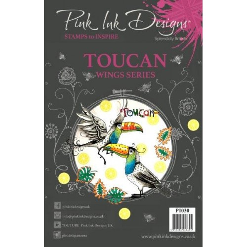 Pink Ink Design - Toucan Stamp