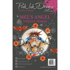 Pink Ink Designs Mel's Angel Stamp Set