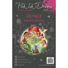 Pink Ink Designs - Fungi Stamp Set
