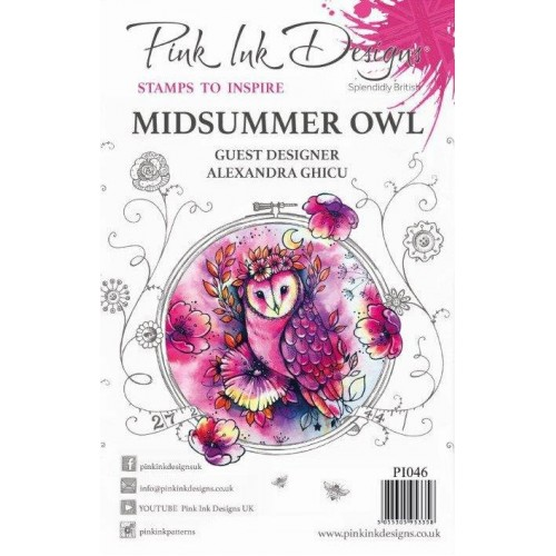 Pink Ink Design Midsummer Owl Stamp Set