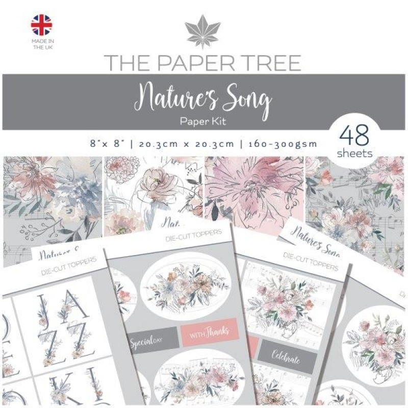 The Paper Tree Natures Song Paper Kit 8 x 8