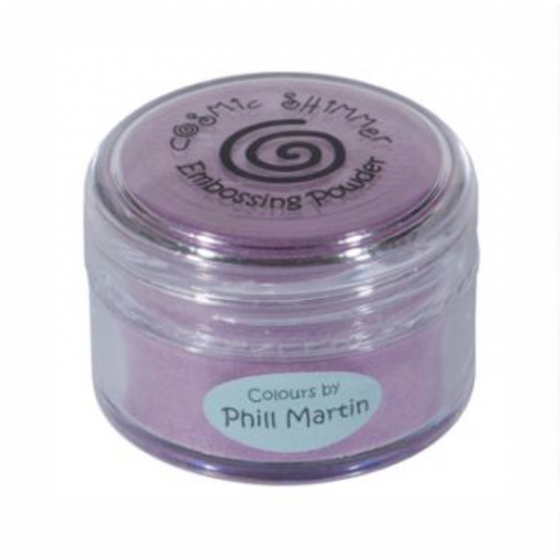 Cosmic Shimmer - Phill Martin - Embossing Powder - Graceful Peach Lustre