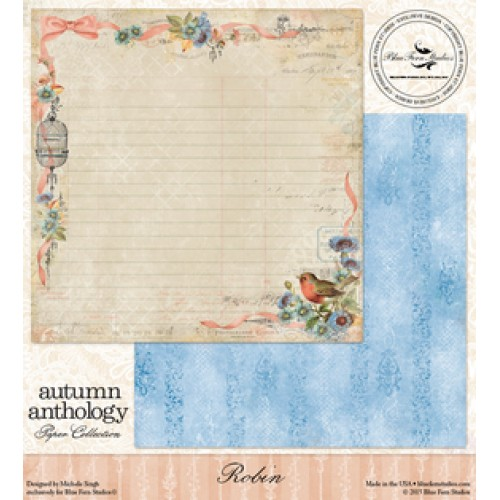 Blue Fern - Autumn Anthology - Robin