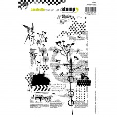 Carabelle Studio - Art Stamp -  Collage Nature