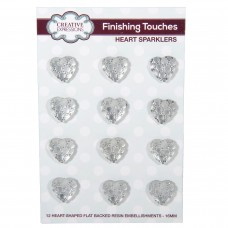 Creative Expressions - Finishing Touches Heart Sparklers