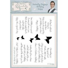 Sentimentally Yours - Phill Martin - Butterfly Elegance Birthday Verses