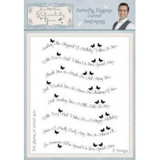 Sentimentally Yours - Phill Martin - Butterfly Elegance Curved Sentiments