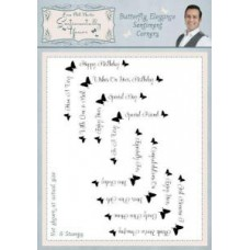 Sentimentally Yours - Phill Martin - Butterfly Elegance - Sentiment  Corners