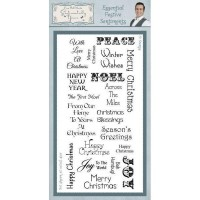 Sentimentally Yours - Essential Festive Sentiments Stamp Set
