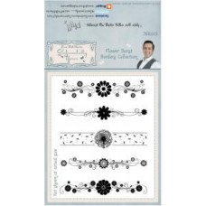 Sentimentally Yours - Phill Martin -  Flower Burst Borders Collection