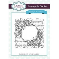 Creative Expressons - Stamps To die for - Scripted Clematis