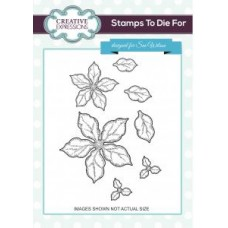 Creative Expressions - Shaded Poinsettia Additions Stamp Set
