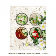 Lemoncraft - Christmas Carols - Buttons/Badge
