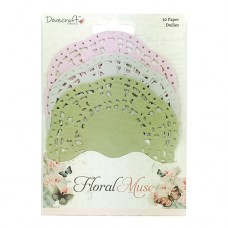 Dovecraft - Floral Muse Paper Doilies