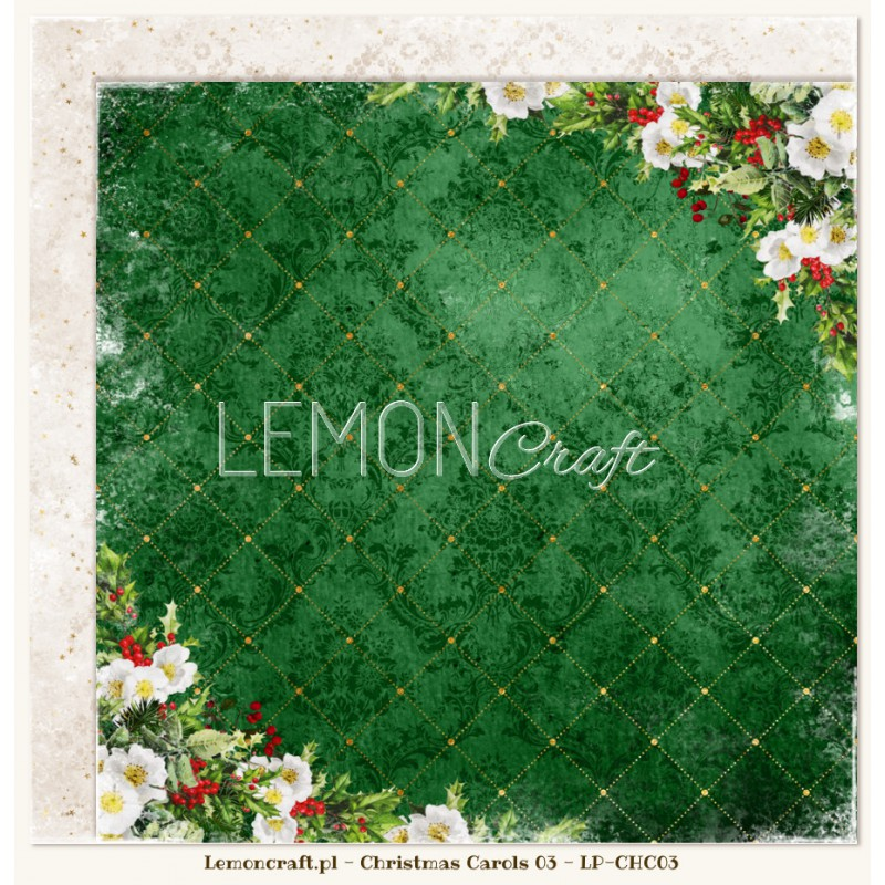 Lemoncraft - Christmas Carols 03 - Scrapbook Paper