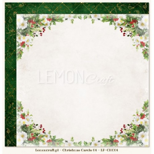 Lemoncraft - Christmas Carols 04 - Scrapbook Paper