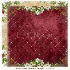 Lemoncraft - Christmas Carols 05 - Scrapbook Paper