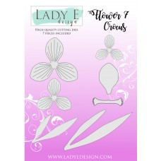Lady E Design Flower 7 Crocus Die Set