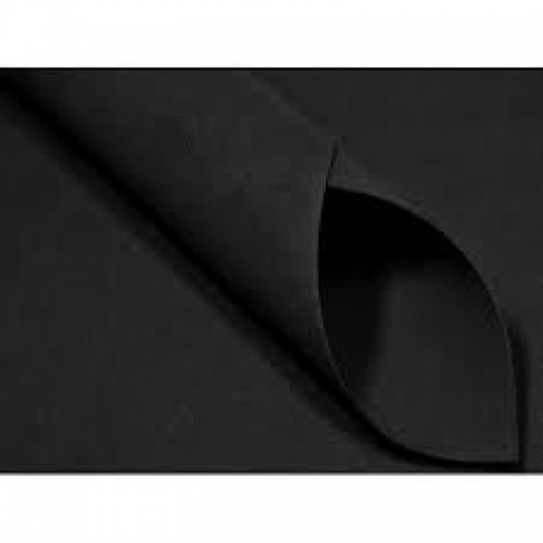 Foamiran - Flower Making Foam Sheets - Black 0.6mm