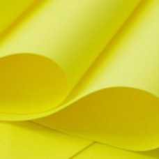 Foamiran - Flower Making Foam Sheets - Yellow