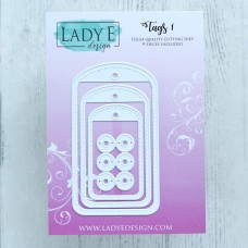 Lady E Design Tags 1 Die